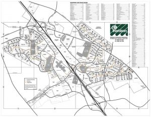 Harbison Street and Pathways Map